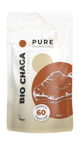 Bio Chaga Pure Mushrooms paddenstoelsupplement
