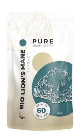 Bio Lion's Mane Pure Mushrooms paddenstoelsupplement