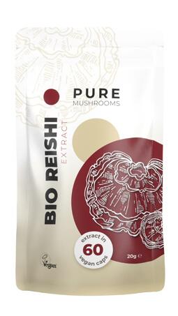 Bio Reishi Pure Mushrooms paddenstoelsupplement